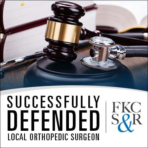 Robert Sappe, Esq. successfully defended a local orthopedic surgeon in Manhattan Supreme Court.