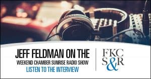Jeff Feldman on the Weekend Chamber Sunrise Radio Show