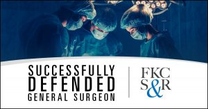 Jeff Feldman, attorney at law, successfully defended a Poughkeepsie general surgeon.