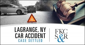LaGrange, NY car accident settled
