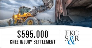 $595,000 settlement for knee injury in Westchester County