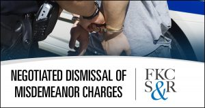 Negotiated dismissal of misdemeanor charges in Wappingers Falls