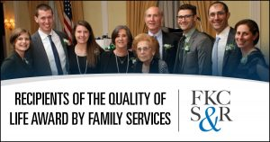 Jeffrey and Rona Feldman Honored with Families Services' 2018 Family of the Year Award