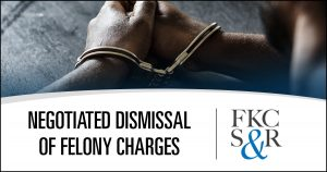 Negotiated dismissal of felony charges in Poughkeepsie