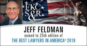 Jeffrey M. Feldman Named to 25th Edition of The Best Lawyers in America©