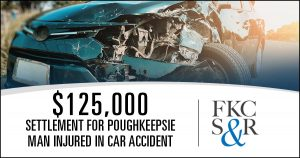 $125,000 settlement for Poughkeepsie man injured in car accident with trash truck